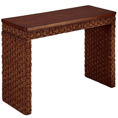 Home Styles 31.25 Banana Leaves Accent Tables