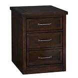 Home Styles 23 Poplar Solids and Mahogany Veneers Mobile File Cabinet