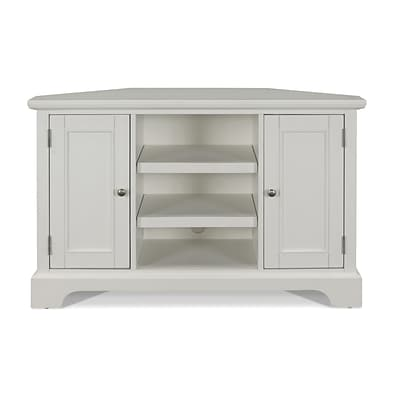 Home Styles 50 Solid Hardwood and Engineered Wood Corner TV Stand