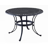 Home Styles 42 Aluminum Round Dining Table