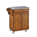 Home Styles 35.5 Solid Hardwood and Engineered Wood Cuisine Cart