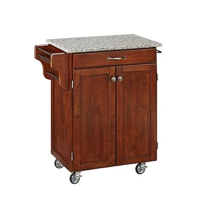 Home Styles 35.5 Solid Wood & Asian Hardwood Cuisine Carts