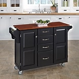 Home Styles 48 Create-a-Cart Warm Oak Finish