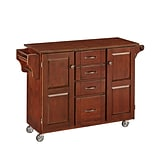 Home Styles 35.5 Solid Wood Kitchen Cart