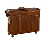 Home Styles 34.8 Solid Hardwood  Create a Cart