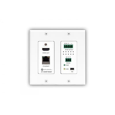 Atlona Hdbaset Rx Box At-Hdwp-Rsnet Decora Wall Plate With Ethernet
