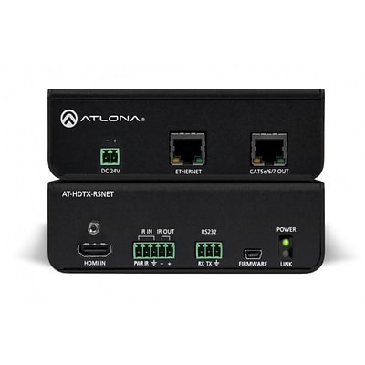 Atlona Hdbaset At-Hdtx-Rsnet Tx Box For HDMI W/Ethernet, Rs-232, And Ir