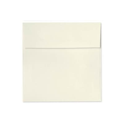 70 lb 4 x 4 Peel & Press Square Envelopes, Natural, 50/Pack
