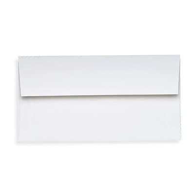 LUX Slimline Invitation Envelopes (3 7/8 x 8 7/8) 250/Box, 80lb. Bright White (72973-80W-250)