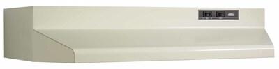 Broan 36'' 160 Cfm Ducted Under Cabinet Range Hood; Almond