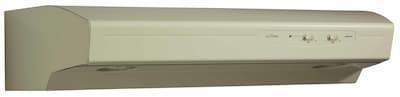 Broan 42'' 220 Cfm Convertible Under Cabinet Range Hood; Almond