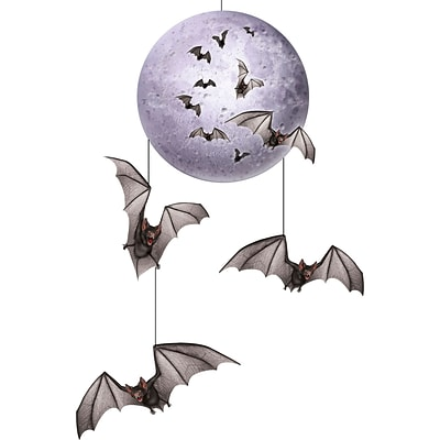Beistle 30 Halloween Mobile Decor; 4/Pack