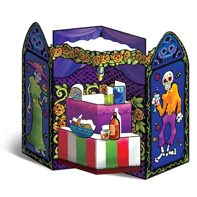 Beistle Day Of The Dead Altar Prop