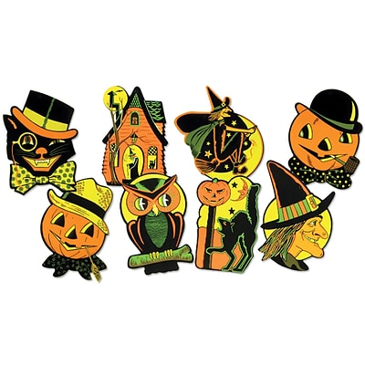Beistle 8 1/2 - 9 1/4 Halloween Cutouts; 32/Pack