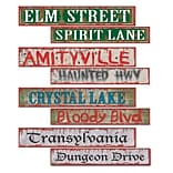 Beistle Halloween Street Sign Cutouts