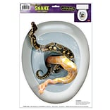 Snake Toilet Topper Peel N Place Sticker