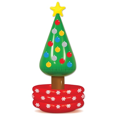 Beistle 4 8 x 26 Inflatable Christmas Tree Cooler