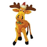 Beistle Plush Christmas Moose Hat, One Size