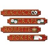 Beistle 4x24 Casino Sign Cutout