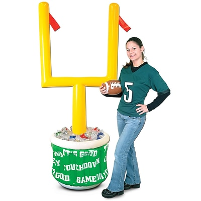 Beistle 6 2 x 28 Inflatable Goal Post Cooler With Football