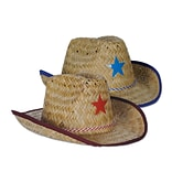 Beistle Child Cowboy Hat With Star and Chin Strap