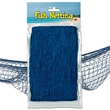 Beistle 4 x 12 Fish Netting, Blue, 2/Pack