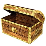 Beistle 8x5 1/2 Treasure Chest Box