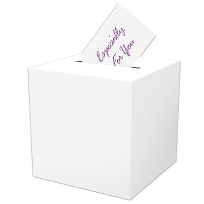 Beistle All-Purpose Receiving Gift Card Box; 12 x 12