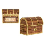 Beistle Pirate Treasure Chest Favor Box