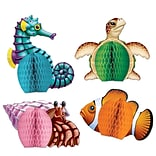 5 1/2 Sea Creatures Playmates Centerpiece
