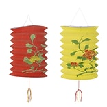 Beistle 6x9 Red/Yellow Chinese Lanterns