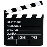 Beistle 7x8 Movie Set Clapboard
