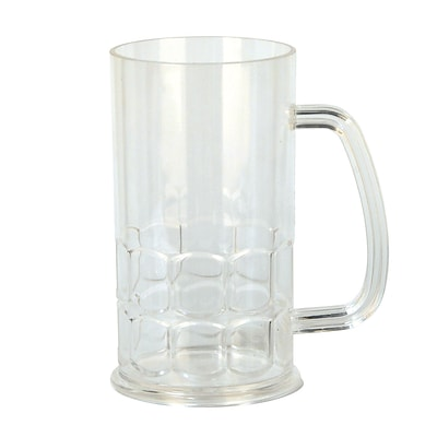 Beistle 5 1/2 x 4 17 oz. Party Mug; Clear, 6/Pack