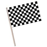 Beistle 11x17 Plastic Checkered Flag