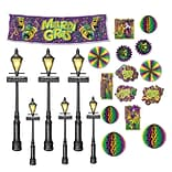 Mardi Gras Decor & Street Light Props