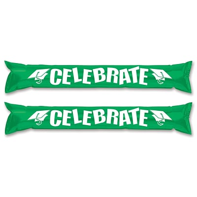 Beistle 22 Make Some Noise Party Sticks; Green, 12/Pack