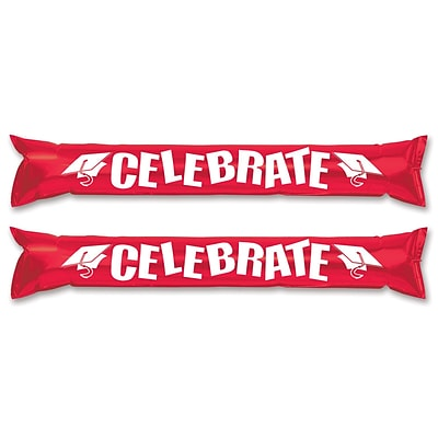 Beistle 22 Make Some Noise Party Sticks; Red, 12/Pack