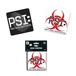 Beistle 3 1/2 Party Scene Investigation Coasters; 32/Pack