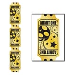 Beistle 6 Jointed Golden Ticket Cutout