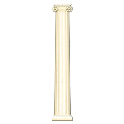 Beistle 6 Jointed Column Pull Down Cutouts; 2/Pack
