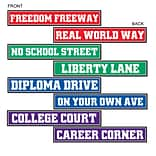 Beistle Graduation Street Sign Cutouts