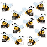 Beistle 5 Message Bees Cutout