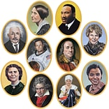 Beistle 10 Faces In History Cutout