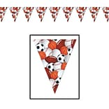 Beistle 10x12 Sports Pennant Banner