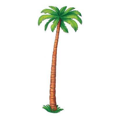 Beistle 6 Jointed Palm Tree; 2/Pack
