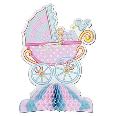 Beistle 10 Baby Shower Centerpiece; 3/Pack
