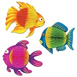 Beistle 8x6 Color Brite Tropical Fish
