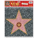 Beistle 12x15 Star Peel N Place Sticker
