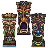 Beistle 9/Pack 22 Tiki Cutouts