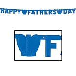 Beistle Foil Happy Fathers Day Streamer